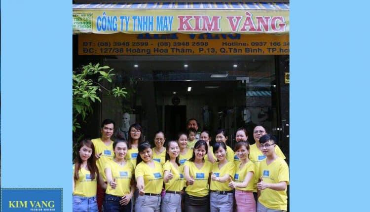 Kim Vàng – Công ty may đồng phục uy tín